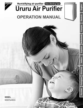 MCK75J | Operation manual